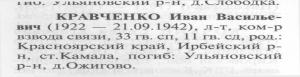 Кравченко И.В. книга памяти